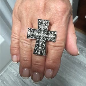 💍CROSS STRETCH RING